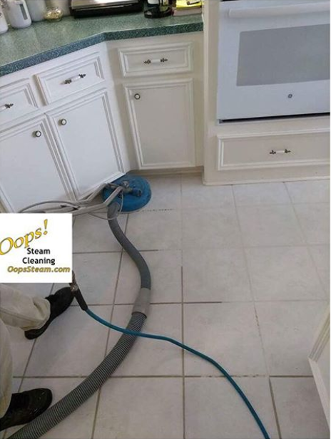 Clean Grout Between Floor Tiles