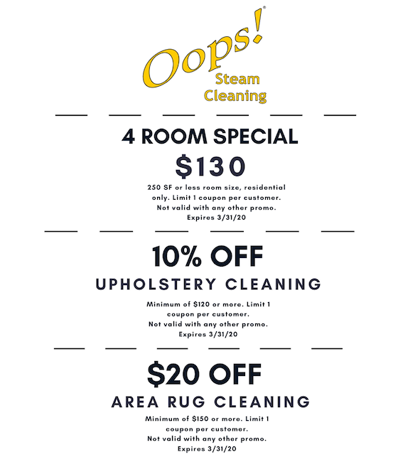 COVID19 Carpet Cleaning Specials